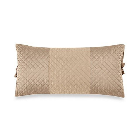 DKNY Harmony Quilted Breakfast Pillow in Sand