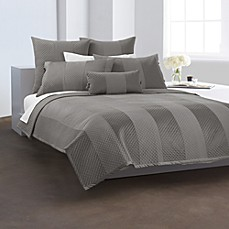 DKNY Harmony Platinum Quilted Bed Skirt