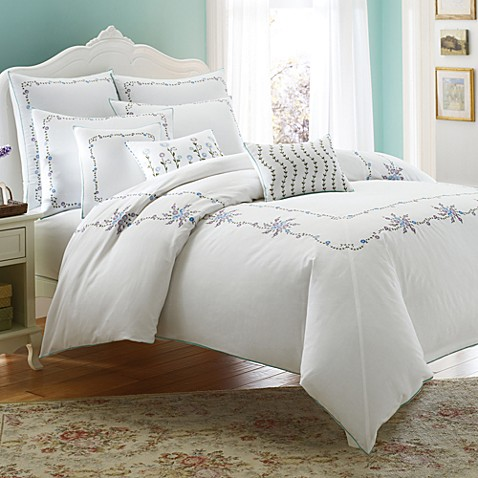 Laura Ashley Home Alicia Duvet Cover Set Bed Bath Amp Beyond