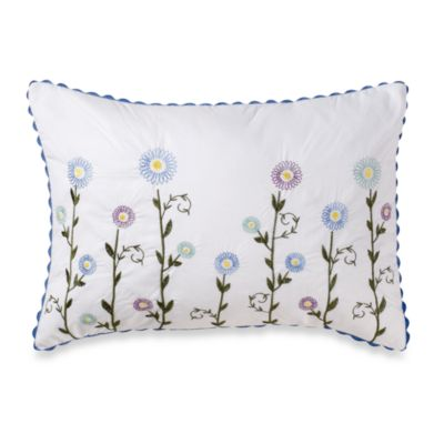 Laura Ashley Home Alicia Flower Breakfast Pillow
