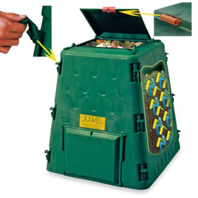 Exaco Trading Co. AeroQuick Small 77-Gallon Compost Bin