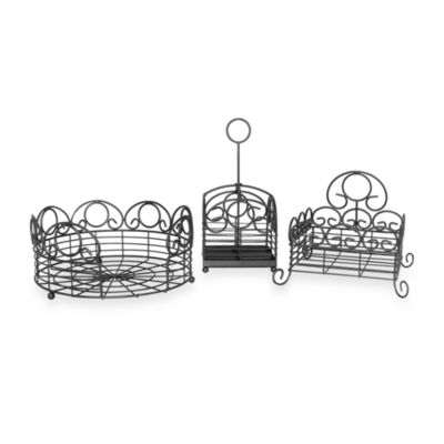 Scroll 3-Piece Picnic Set
