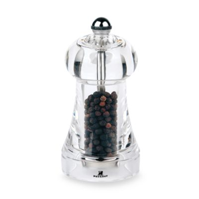 Peugeot Toul Acrylic Pepper Mill