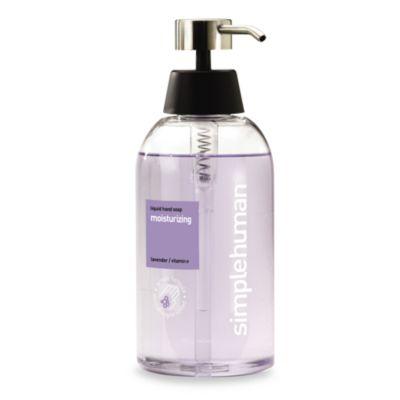 simplehuman® Liquid Hand Soap 15-Ounce Dispenser in Moisturizing