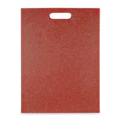 "Architec® EcoSmart Poly-Flax Red 12-Inch x 16-Inch Cutting Board</P>"">