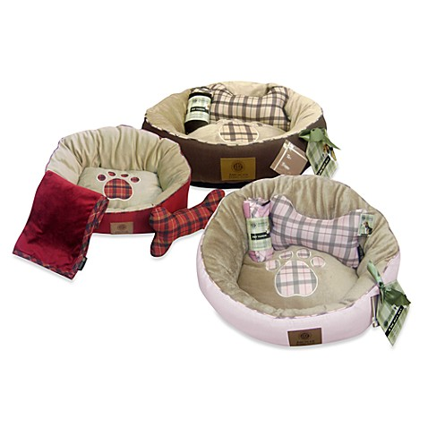 American Kennel Club™ 3-Piece Pet Bed Set