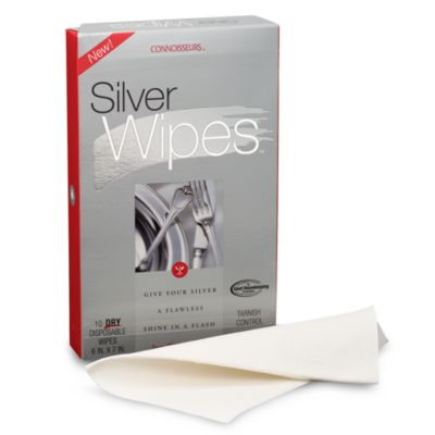Connoisseurs® Silver Wipes