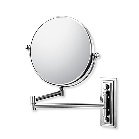 Mirror Image™ 208 Series Classic Double Arm 5X/1X Wall Mirror with Chrome Finish