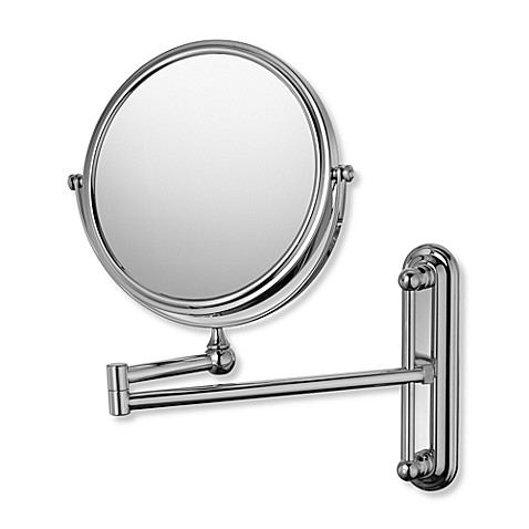 Mirror Image™ 201 Series Double Arm Adjustable 4X/1X Wall Mirror