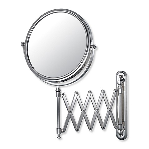 Mirror Image™ 233 Series Extension Arm 5X/1X Wall Mirror with Chrome Finish