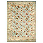 Safavieh Lyndhurst Floral Bouquet Room Size Rugs in Blue