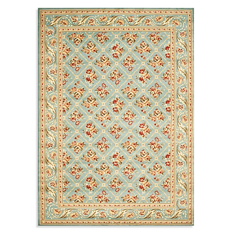 Safavieh Lyndhurst Floral Bouquet 8-Foot x 11-Foot Room Size Rug in Blue