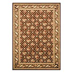 Safavieh Lyndhurst Floral Bouquet 8-Foot x 11-Foot Room Size Rug in Brown