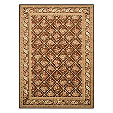 Safavieh Lyndhurst Floral Bouquet Rug in Brown
