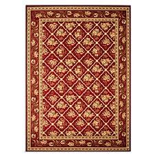 Safavieh Lyndhurst Floral Bouquet Rug in Red