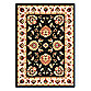Safavieh Lyndhurst Flower Palmette Rug in Black