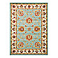Safavieh Lyndhurst Flower Palmette 8-Foot x 11-Foot Room Size Rug in Blue