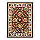 Safavieh Lyndhurst Flower Palmette 5-Foot 3-Inch x 7-Foot 6-Inch Room Size Rug in Brown