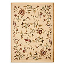 Safavieh Lyndhurst Flower and Vine Room Size Rug in Ivory