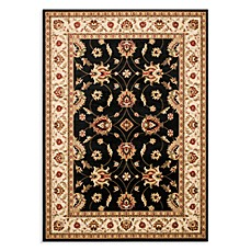 Safavieh Lyndhurst Flower Rug in Black