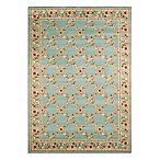 Safavieh Lyndhurst Flower and Vine Rug in Blue