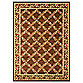Safavieh Lyndhurst Flower and Vine Rug in Brown