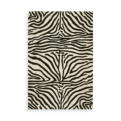 Skin 8-Foot x 10-Foot Rug in Ivory/Chocolate