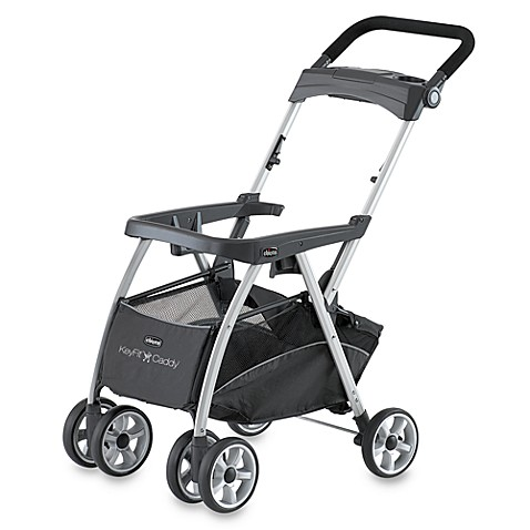 Frame Strollers > Chicco® KeyFit Caddy Lightweight Aluminum Infant Car Seat Carrier Stroller
