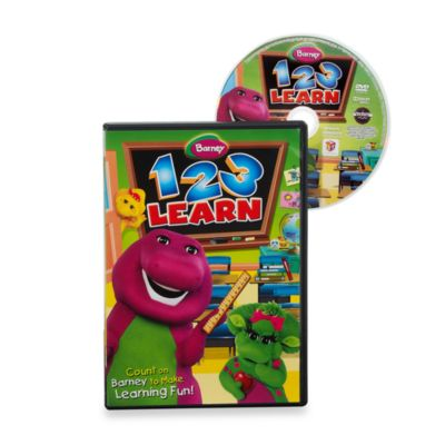 1-2-3 Learn DVD: Barney-Incharge!