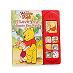 Disney® Little Sound Board Books in Winnie the Pooh I Love You
