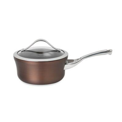 Calphalon® Contemporary Nonstick Bronze Anodized Edition 1.5-Quart Covered Saucepan