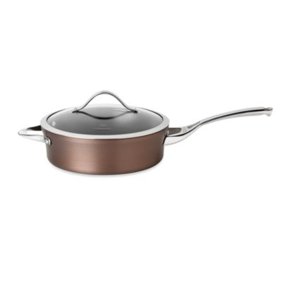 Calphalon® Contemporary Nonstick Bronze Anodized Edition 3-Quart Covered Saute Pan