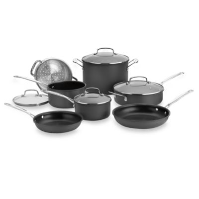 Cuisinart® Chef's Classic™ Non-Stick Hard Anodized 11-Piece Cookware Set