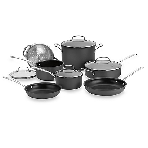 Cuisinart® Chef's Classic™ Nonstick Hard Anodized 11-Piece Cookware Set