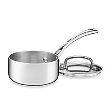 Cuisinart® French Classic Tri-Ply Stainless 1-Quart Saucepan with Cover