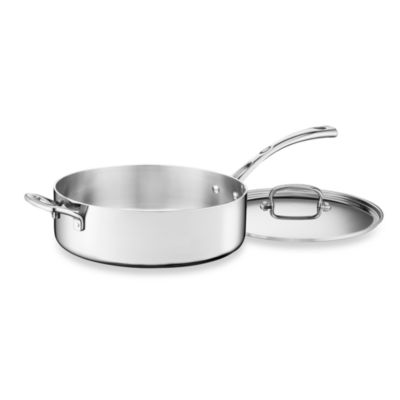 Cuisinart® French Classic Tri-Ply Stainless 5.5-Quart Saute Pan with Cover