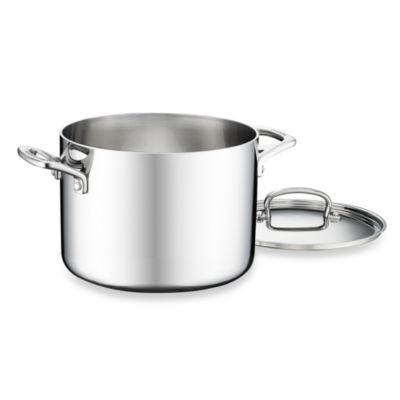 Cuisinart® French Classic Tri-Ply Stainless 6-Quart Stockpot with Cover