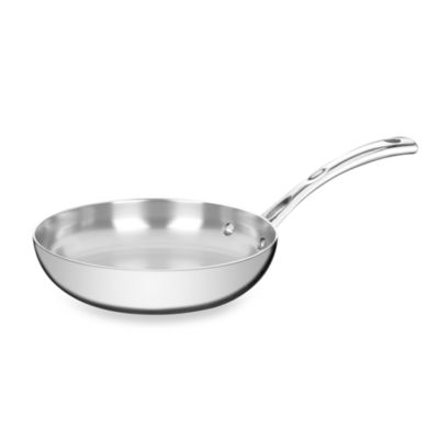 Stainless Steel Tri-Ply 8-Inch Fry Pan