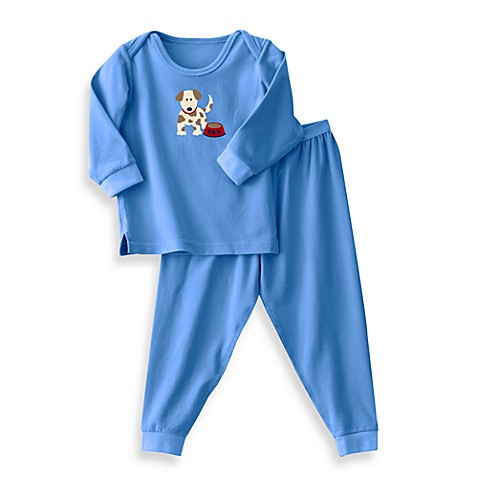 HALO® Size 0 - 3 Months Luxury Pajamas (2-Piece Set) in Blue