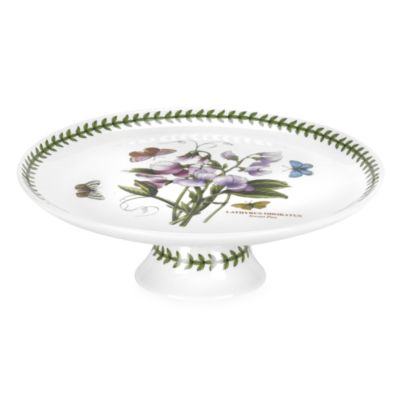 Portmeirion® Botanic Garden 6-Inch Mini Footed Cake Plate