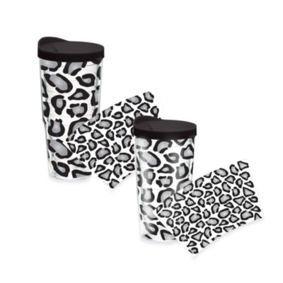 Tervis 24-Ounce White Black Wrap Tumbler