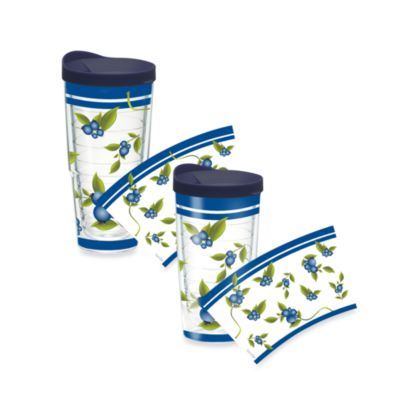 Tervis Blueberry Vine 16-Ounce Tumbler