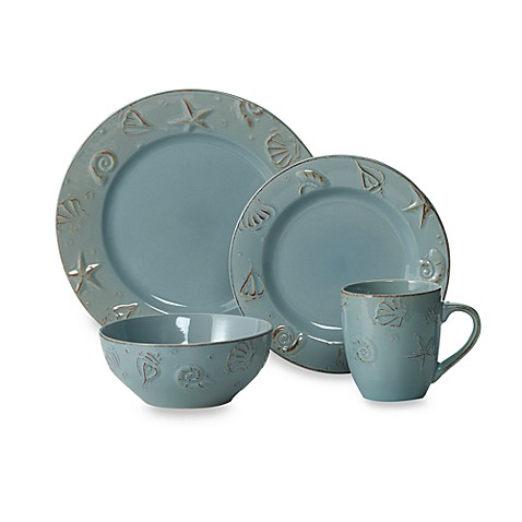 buy thomson pottery cape cod 16 piece dinnerware set from