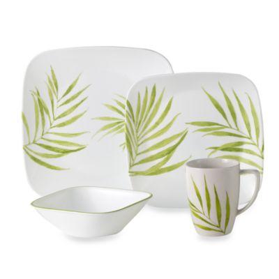 Corelle® Vive Bamboo Leaf 16-Piece Dinnerware Set