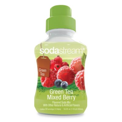 SodaStream Sodamix Flavor in Green Tea Mixed Berries