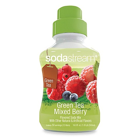 SodaStream Green Tea Mixed Berry Sparkling Drink Mix