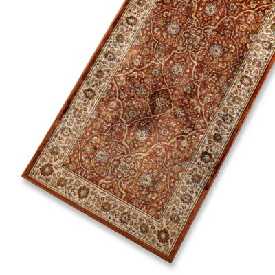 Verona Persian 3-Foot 3-Inch x 4-Foot 7-Inch Rug in Rust/Cream