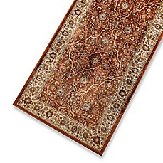 Verona Persian Rug in Rust/Cream