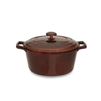 BergHOFF® Neo Cast Iron 4.4-Quart Round Covered Casserole
