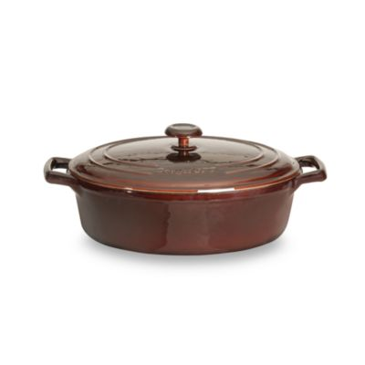 BergHOFF® Neo Cast Iron 4.8-Quart Oval Covered Casserole